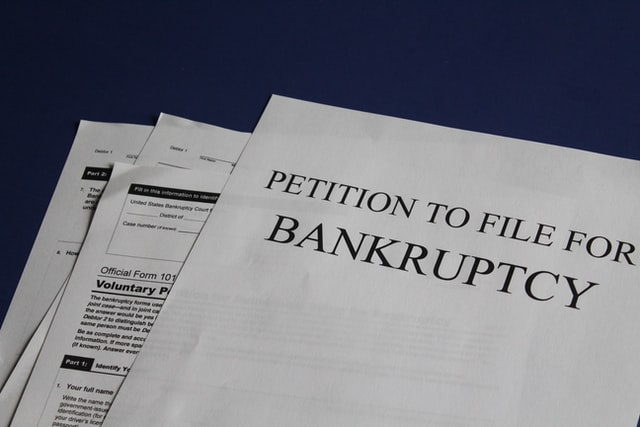 Can personal loans be included in bankruptcy?